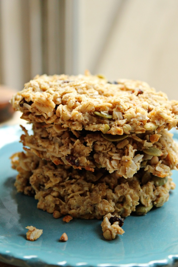 Muesli-Breakfast-Cookies